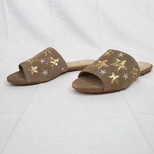 The Fix Women's Foster Star Slide Sandal, Mushroom